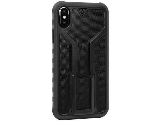 Topeak RideCase voor iPhone X Hoes met houder, zwart